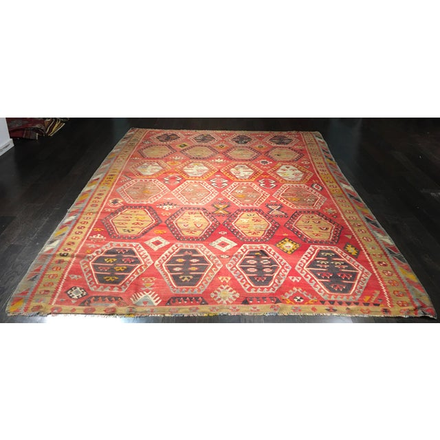 "Bellwether Rugs Vintage Turkish Kilim Rug - 8'3"" x 10'8"" - Image 2 of 11"