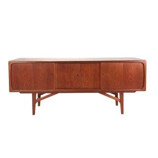 1960s Danish Modern Teak Sideboard For Sale