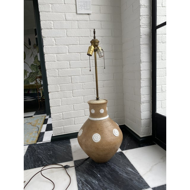 Mid-Century Italian Ugo Zaccagnini Lamps - a Pair For Sale - Image 9 of 13