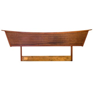 George Nakashima Origins Queen Headboard for Widdcomb For Sale