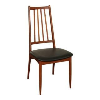 Danish Modern Teak Mid Century Side Chair For Sale