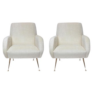 "Stripe's Own Custom ""Roma"" Chairs For Sale"