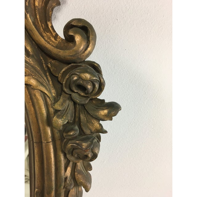Early 20th Century Rococo Mirror For Sale - Image 4 of 9