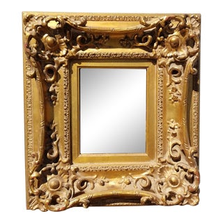 Vintage French Provincial Gold Ornate Rococo Picture Frame #6 For Sale