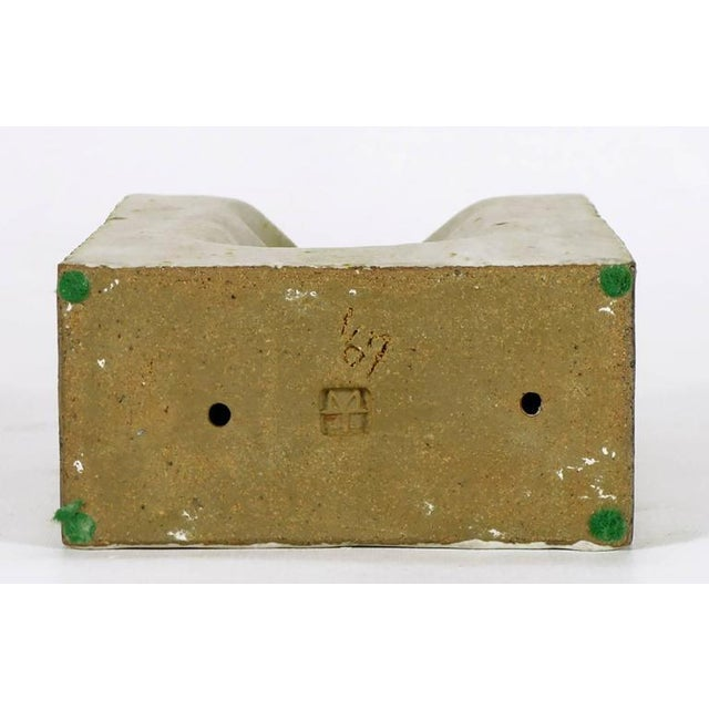 Ceramic 1967 Double-Sided Abstract Ceramic Sculpture by Tomiya Matsuda (1939-2011) For Sale - Image 7 of 7