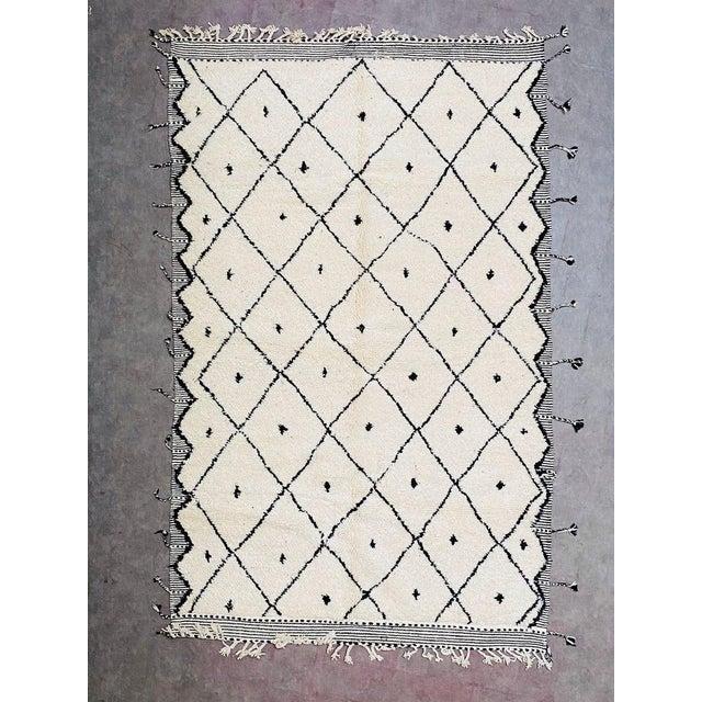 Vintage Berber Moroccan Rug For Sale - Image 10 of 10