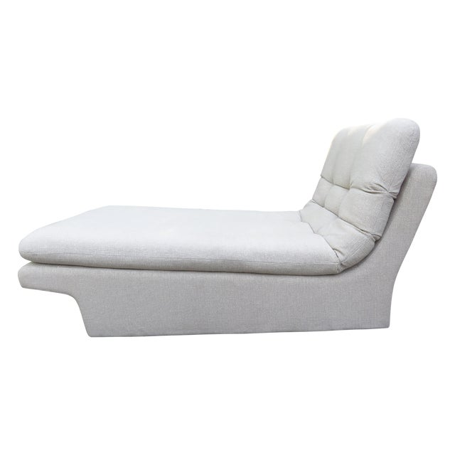 Vladimir Kagan-Style Sculptural Chaise Lounge - Image 1 of 10