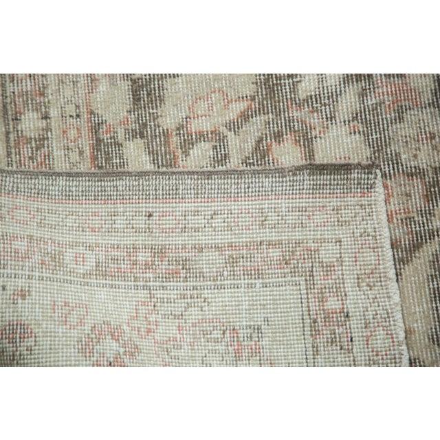 "Vintage Distressed Sivas Carpet - 7'2"" x 10'7"" For Sale - Image 5 of 9"