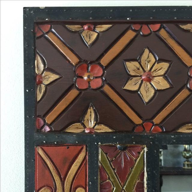 Vintage Wood Mirror - Image 3 of 8
