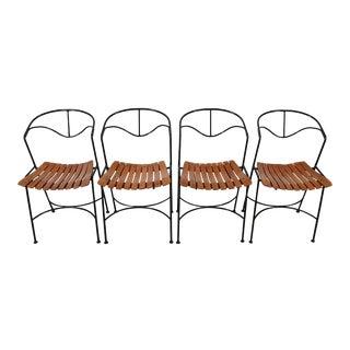 Slat Chairs Arthur Umanoff Raymor Mid Century Modern For Sale