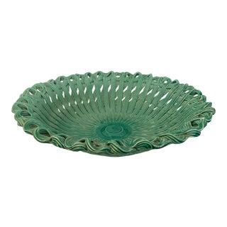 Jade Green Ceramic Bowl/Made In Italy