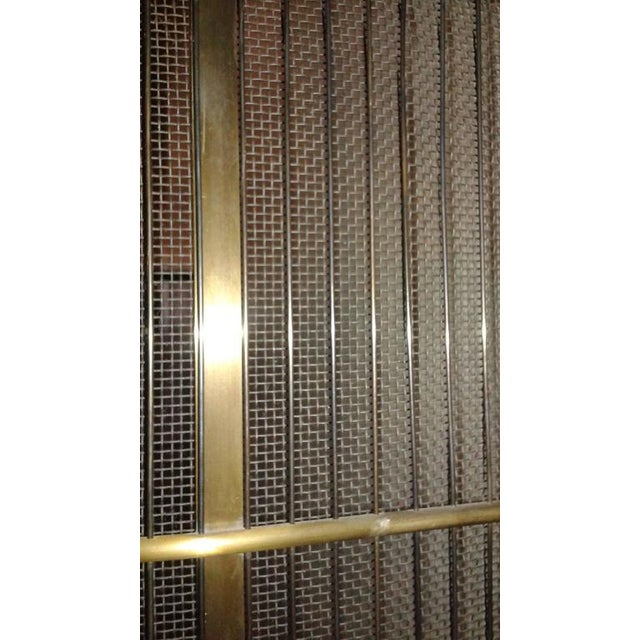Contemporary Custom Fire Place Screen For Sale - Image 4 of 4