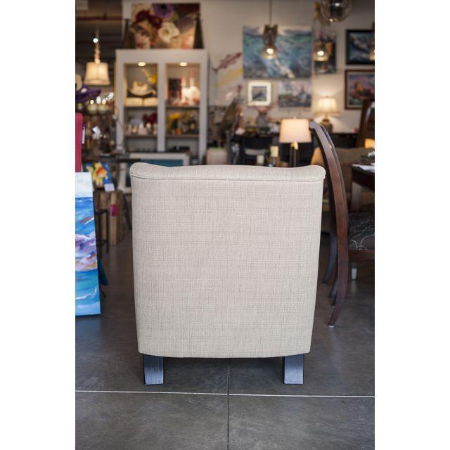 Hiatt Armless Cream Chair - Image 3 of 4
