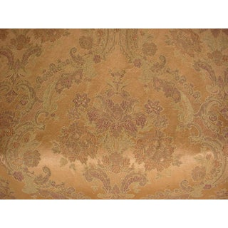 Kravet Couture Short Hills Sand Floral Brocade Upholstery Fabric- 8-5/8 Yards For Sale
