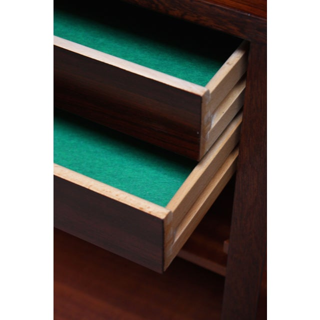 Danish Rosewood Two-Piece Bookcase by Gunni Omann - Image 5 of 8