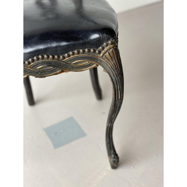 19th Century 19th Century Painted Continental Chair For Sale - Image 5 of 8