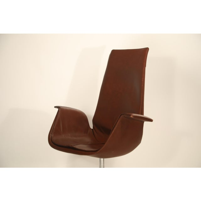 Mid-Century Modern Fk 6725 'Bird' Chair by Preben Fabricius and Jorgen Kastholm for Alfred Kill For Sale - Image 3 of 13