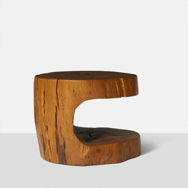 Brown Pair of Side Tables by Hugo Franca For Sale - Image 8 of 9