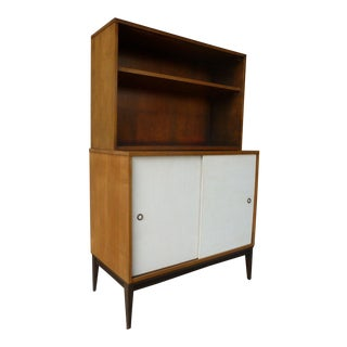 1950's Vintage Planner Group Paul McCobb Restored 2 Tier Cabinet For Sale