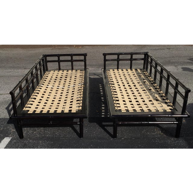 McGuire Jpanese-Style Daybed Sofas - A Pair - Image 5 of 7