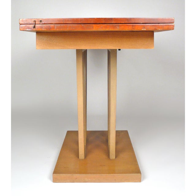 Wood Custom Console Table For Sale - Image 7 of 10