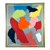 Image of Larry Kessler Composition VI Abstract Oil on Canvas Painting, 2008 For Sale