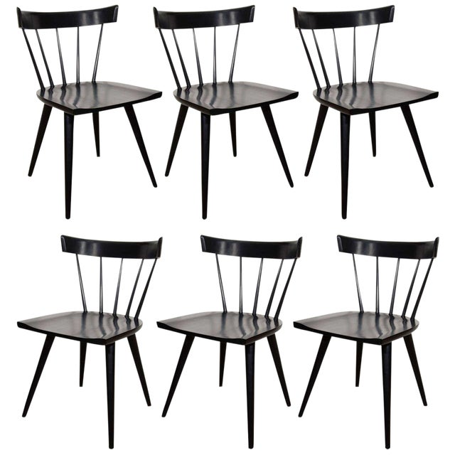 Paul McCobb Planner Group Set of 6 Dining Chairs For Sale