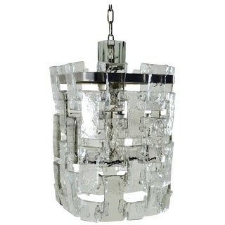 Mazzega Interlocking Chandelier