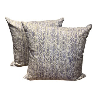 """Alan Campbell """"Mojave"""" Pillows - a Pair For Sale"""