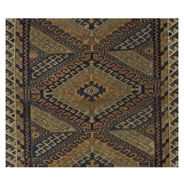 Antique Persian Balouch Rug - 3' x 5' - Image 4 of 4
