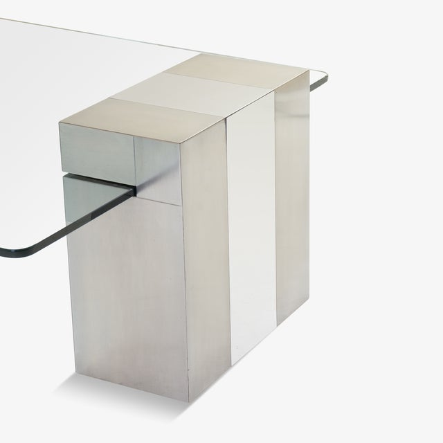 Cityscape Floating Cocktail Table by Paul Evans - Image 6 of 7