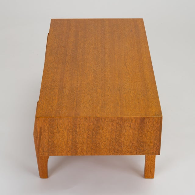Brown Single Bench With Storage by John Keal for Brown Saltman For Sale - Image 8 of 13