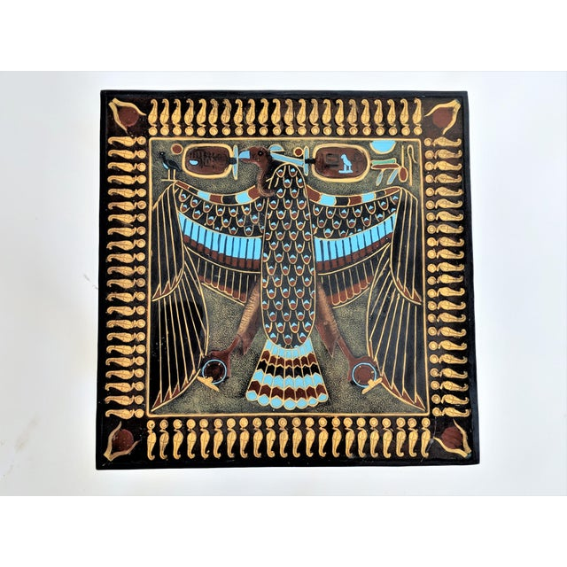 Egyptian Nekhbet Occasional Table - Image 4 of 11