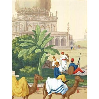 Casa Cosima Classic Jaipur Mural - Sample For Sale