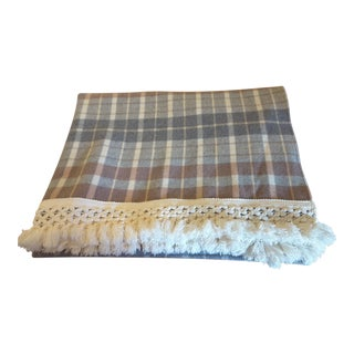 Handcrafted Pendleton Sustainable Wool Throw For Sale