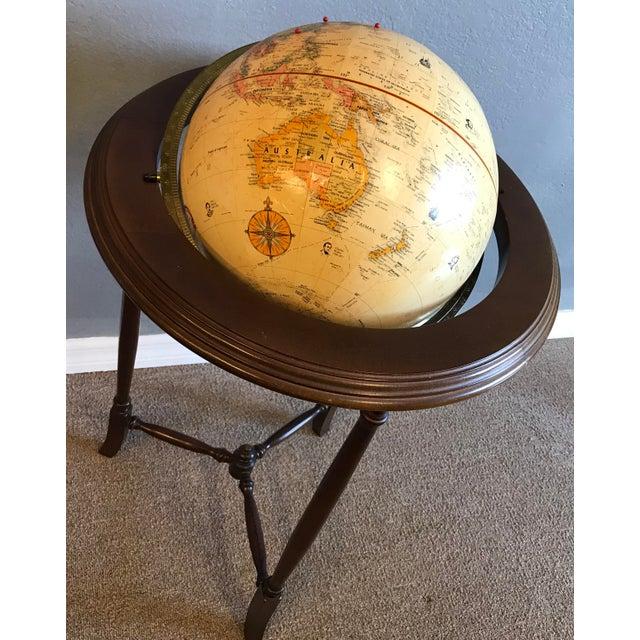 Vintage World Globe For Sale - Image 4 of 7