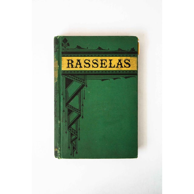 "Antique Book, ""Rasselas"" For Sale - Image 9 of 9"