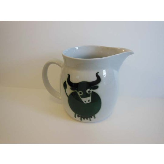 Vintage Arabia Bull Cow Pitcher Kaj Franck - Image 5 of 6