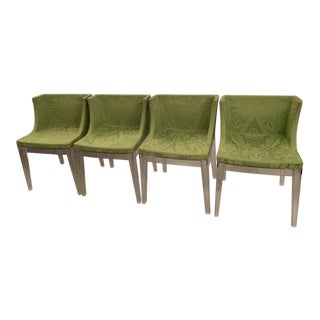 Modern Philipe Starck From Kartell Madamoiselle Chairs- Set of 4 For Sale