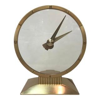 Vintage Jefferson Golden Hour Clock For Sale
