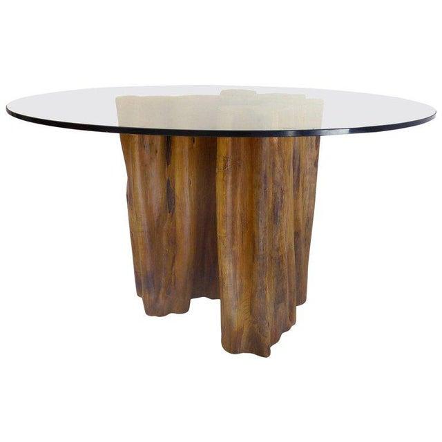Sculptural Amazon Guaranta Table Base from Brazilian Artist Valeria Totti For Sale - Image 9 of 9