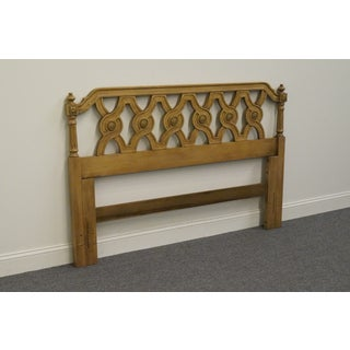 Late 20th Century Thomasville Palatino Neoclassical Style Queen Size Headboard Preview