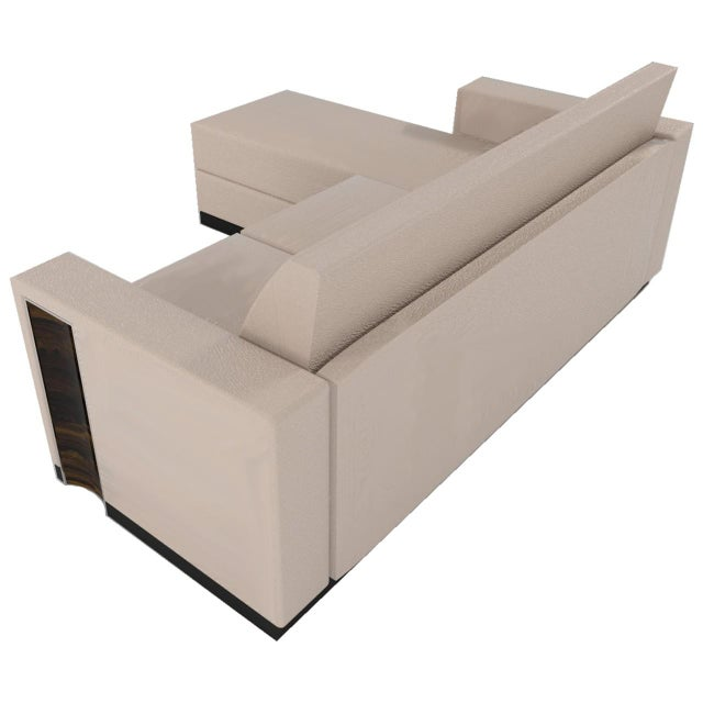 Ziricote 4-seater Sofa With Chaise