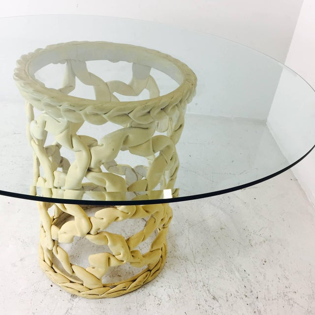 """Tony Duquette """"Ribbon"""" Dining Table in the Style of Tony Duquette For Sale - Image 4 of 6"""