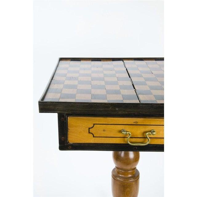 19th Century Italian Walnut Game Table - Image 7 of 9