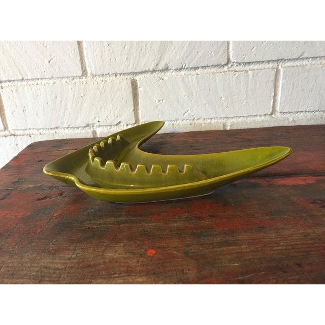 Green Boomerang Ashtray - Image 3 of 7