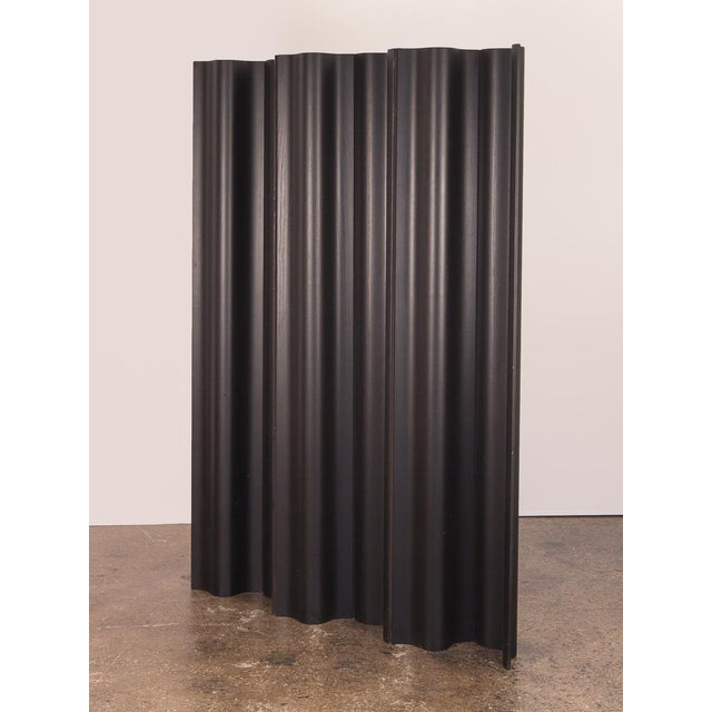 Eames Ebonized Folding Wood Screen Fws-6 For Sale - Image 10 of 10