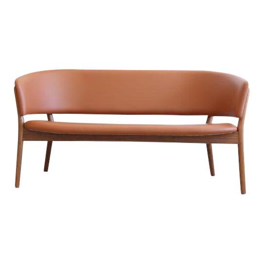 Mid-Century Danish Nanna Ditzel for Snedkergaarden Shell Sofa For Sale