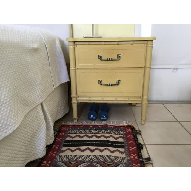 One of the dresser drawers has to be fixed. Overall very good condition
