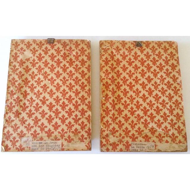 Italian Italian Prints in Gilt Frames, Pair For Sale - Image 3 of 3